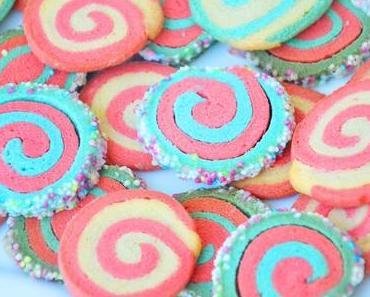 Unsere Regenbogen Kekse