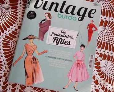 Burda Vintage : Die Mode der 50er