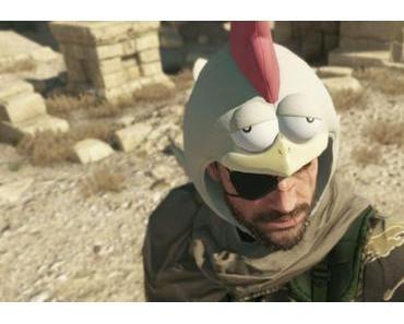 """Metal Gear Solid V: The Phantom Pain – """"Chicken Heads"""" Kopfbedeckung senkt den Schwierigkeitsgrad"""