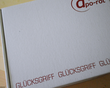 Apo-Rot Glücksgriffbox | Januar 2015