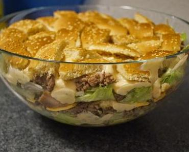"Rezept ""Big Mac Salat"""