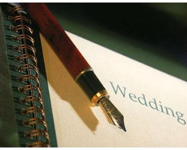 Die besten Sprüche fürs Hochzeits-Gästebuch