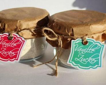 Vanillezucker aus dem Thermomix mit Etiketten-Freebie