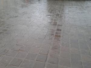 Gent im Regen …