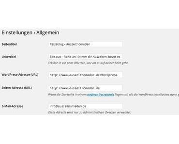 Bei einem WordPress Blog die Domain ändern – So bekommst du es hin !