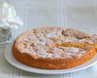 Olivenölkuchen mit Aprikosen / Olive Oil Cake with Apricots