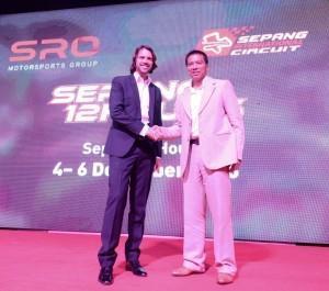 SRO freut sich über Partnerschaft mit dem Sepang International Circuit