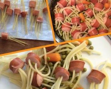 Pipi Langstrumpf Spaghetti Würstchen