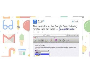 Google buhlt um die Gunst der Firefox-Surfer