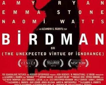 Review: BIRDMAN ODER (DIE UNVERHOFFTE MACHT DER AHNUNGSLOSIGKEIT) - There's No Business Like Show Business