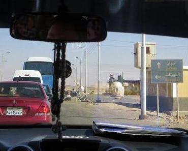 Nilkreuzfahrt: Allein in Abu Simbel