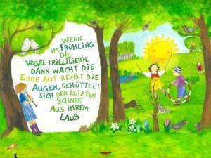 Alles wird grün: Das bunte Kinder Lieder Buch zum Mitsingen