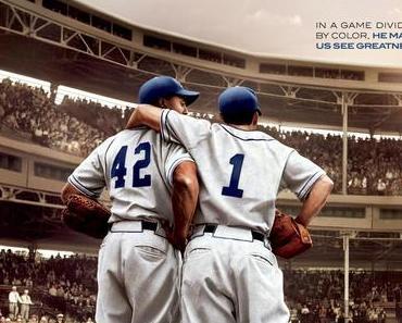 Review: 42 – DIE WAHRE GESCHICHTE EINER SPORTLEGENDE – Ein Schwarzer macht die Baseball-Liga verrückt