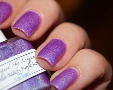 Liquid Sky Lacquer - Polish Addict's Purple Soul