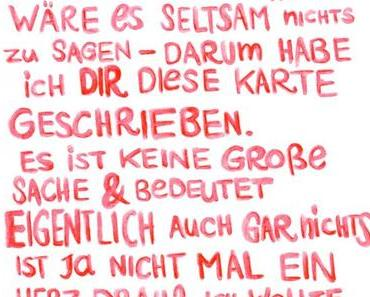 Fräulein Zebra is back! | + 4 völlig unromantische Valentinstags-Freebies