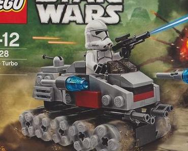 Lego Star Wars - 75028 - Clone Turbo Tank - Microfighters Series 1