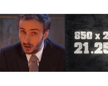 Jan Böhmermann verteilt verbale Schellen an die Youtube-Gaukler