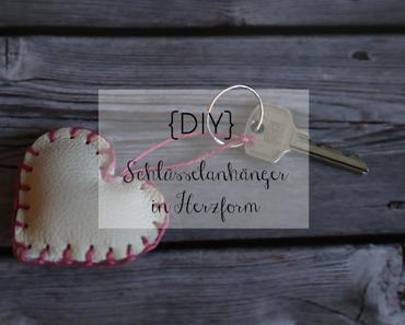 DIY | Schlüsselanhänger Herz