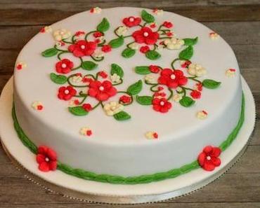 vegane Frühlings-Schokolade-Himbeer Torte