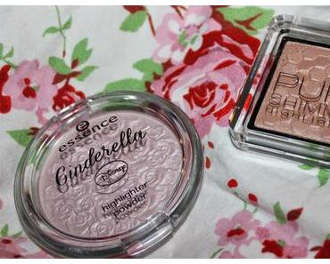 Swatch Battles: Catrice Nude Purism Pure Shimmer Highlighter vs. Essence Cinderella Limited Edition