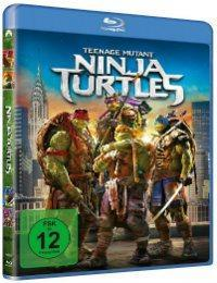 "Blu-ray & Pizzaschneider zu ""Teenage Mutant Ninja Turtles"""