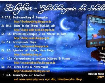 Blogtour: Glücksbringerin der Schattenwälder - Tag 3 ♥