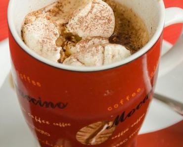 Tassenparade?! Nr. 13 – Kaffee mit Kakao und Marshmallows und ein Tassenkuchen-Rezept von 2010