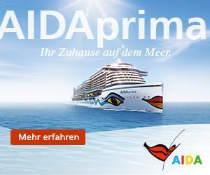 Was sind die Highlights auf der neuen AIDAPRIMA - jetzt alles Neue entdecken!