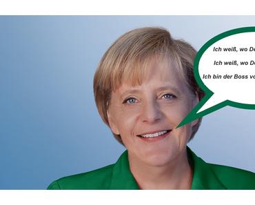 Stasi-Merkel will mit Gewalt die Vorratsdatenspeicherung
