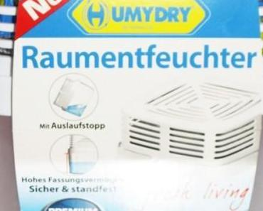 HUMYDRY®  Qualitäts – Raumentfeuchter gibt Feuchtigkeit keine Chance