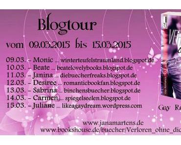 """[Blogtour] """"Blogtour Verloren ohne dich"""" von Jana Martens - Charakterbeschreibung und Interview von Lucas"""