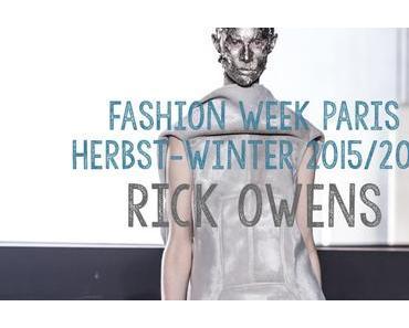 FW // Paris // A-W 2015-2016: Rick Owens