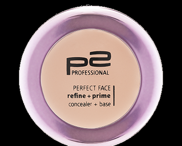 p2 perfect face refine + prime base cream