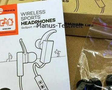 TaoTronics® Bluetooth Kopfhoerer [Test]