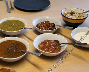 Indisches Essen fuer die Kollegen