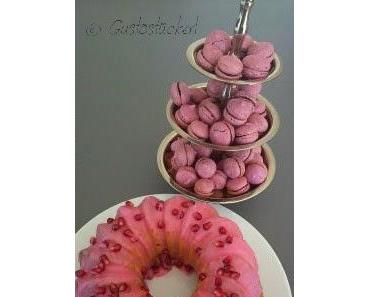 Granatapfel-Monat: Buttermilch-Gugelhupf mit Granatapfel-Glasur