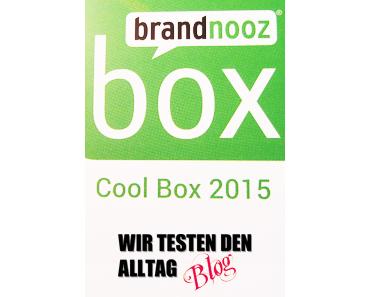 [BRANDNOOZ] Cool Box - März 2015 & ich verschenke zwei Gutscheine