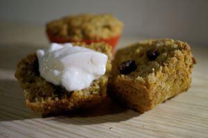 Haferflocken – Möhren – Muffins