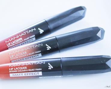Manhattan Lip Lacquer Matt Effect - Lippenswatch