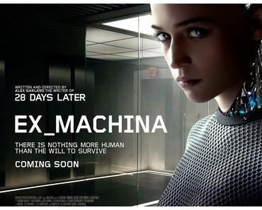 Review: EX MACHINA - Diskurs um die künstliche Intelligenz