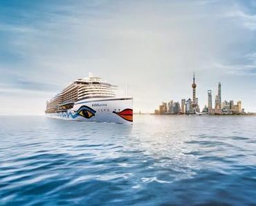 AIDA Cruises: Ab sofort ist die Jungfernfahrt von AIDAprima, von Yokohama (Japan) nach Dubai (VAE) führt, auch in fünf neuen Teilrouten buchbar!