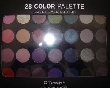 bh Cosmetics 28 COLOR SMOKEY EYES Lidschatten Palette