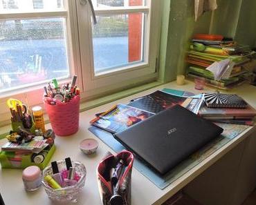 {DIY} Whiteboard + Schreibtisch Organisation
