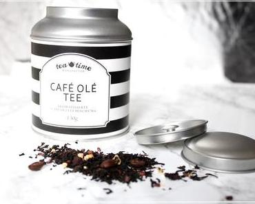 Café Olé Tee ~ Schwarztee und Milchkaffee in einem ♥