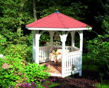 Gartenlaube selber bauen – so geht's