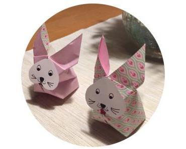 Das ist ja zum Pusten – oder – Origami-Hasen, mal anders