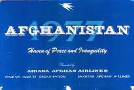"KABUL-FRANKFURT MIT AFGHAN-AIRLINE ""ARIANA"""