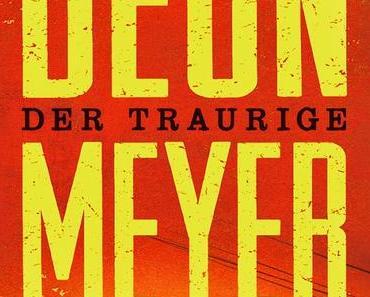KW13/2015 - Buchverlosung der Woche - Der traurige Polizist von Deon Meyer