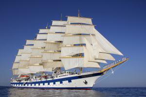 Der Fünfmaster »Royal Clipper« Größtes Segelschiff der Welt kommt nach Europa