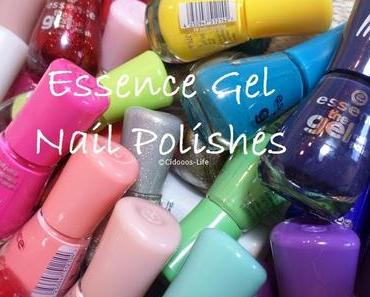 Essence Long Lasting Gel Nail Polishes Swatches ALLER Farben ♥